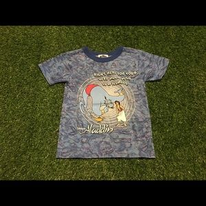 Boys Single Stitch Disney's Aladdin T-shirt Sz 5/6